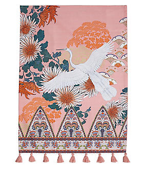 Opulent Stork Tea Towel