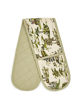 Botanical Double Oven Gloves