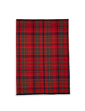 Cotton Rich Tartan Tea Towel