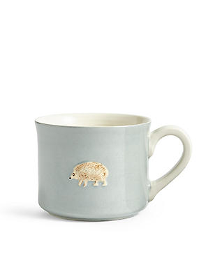 Embossed Hedgehog Mug