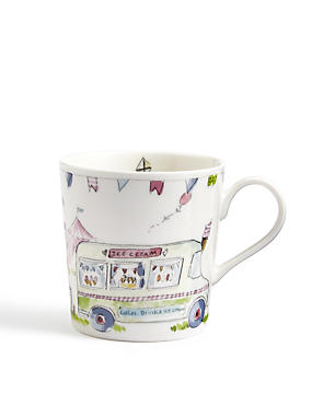 Village Fete Ice Cream Mug