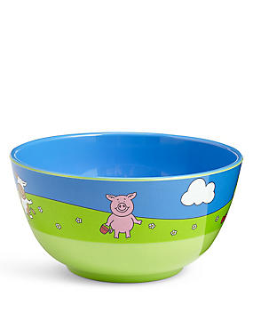 Percy Pig Melamine Cereal Bowl