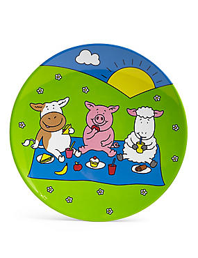 Percy Pig Melamine Side Plate