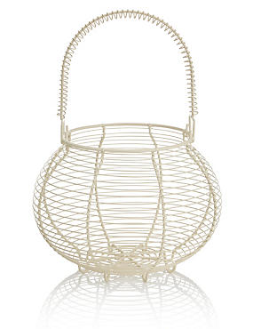 Wire Egg Basket