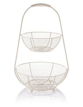 2-Tier Wire Ware Stand