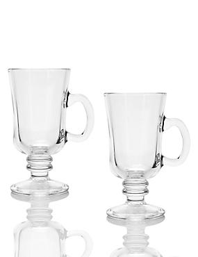 2 Irish Coffee Mug Set