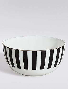 Sue Timney Stripe Cereal Bowl