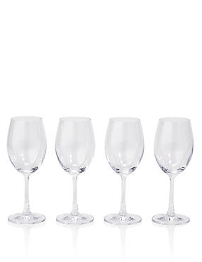 Andante 4 Pack White Wine Glasses