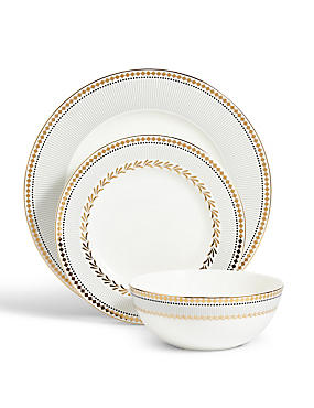 12 Piece Nouveau Dinner Set