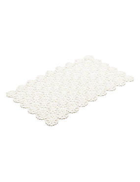 2 Pack Daisy Lace Placemats