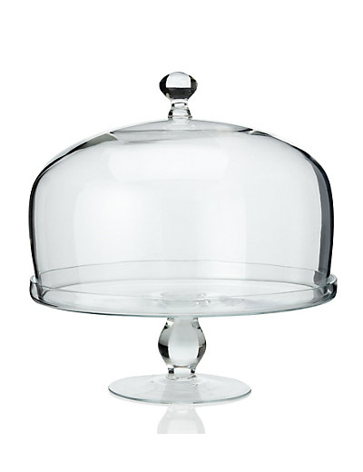 cake stand with dome m s. Black Bedroom Furniture Sets. Home Design Ideas