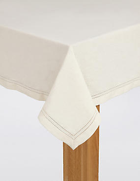 Hemstitch Tablecloth