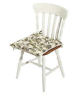 Forest Toile Seatpad