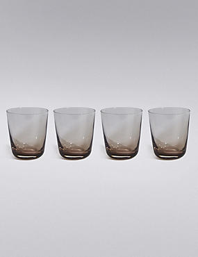 4 Tribeca Stacking Tumbler Glasses