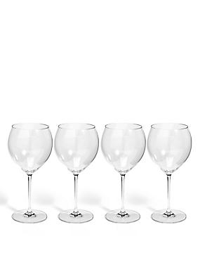 Sommelier 4 Pack Large White Wine Glass