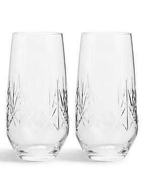 Nouveau 2 Pack Hi Ball Glasses