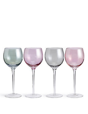 Ophelia 4 Pack Wine Glasses