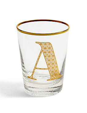 Alphabet Glass A