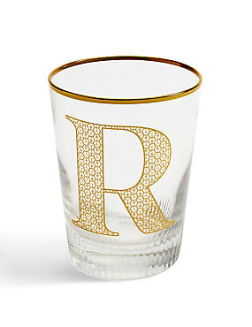 Alphabet Glass R