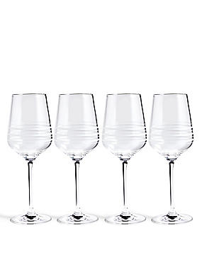 4 Pack Portobello Wine Glasses