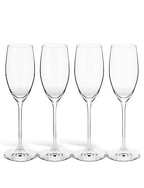 Arden 4 Pack Champagne Flutes