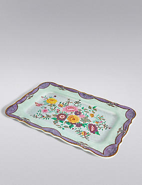 Spring Blooms Picnic Floral Tray