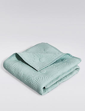 Lola Leaf Print Throw