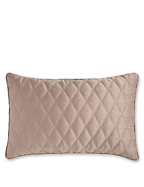 Diamond Quilted Cushion