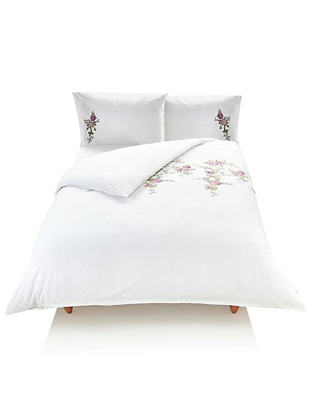 Cora Embroidered Bedding Set