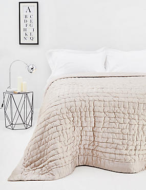 Cotton & Silk Blend Bedspread