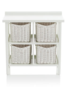 Rattan 2 by 2 Unit