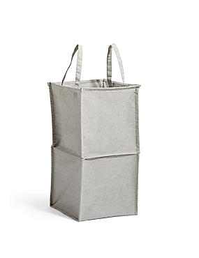 Pop Up Canvas Laundry Bin