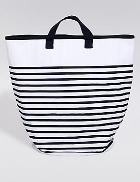 Coastal Stripe Laundry Bag
