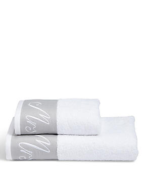 Mrs Embroidered Towel