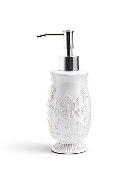 Fiorella Embossed Soap Dispenser