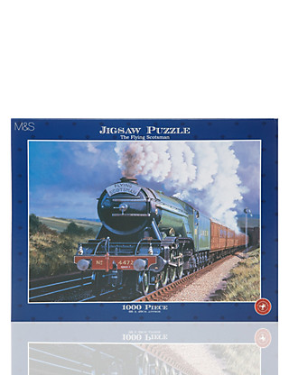The Flying Scotsman Puzzle Home