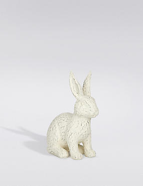 Resin Rabbit Ornament