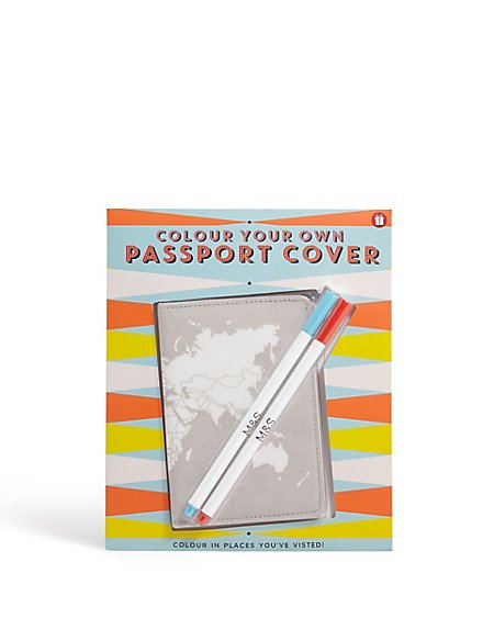Colour Your Own Passport