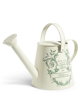 Slogan Watering Can
