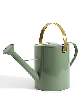 Copper & Green Watering Can