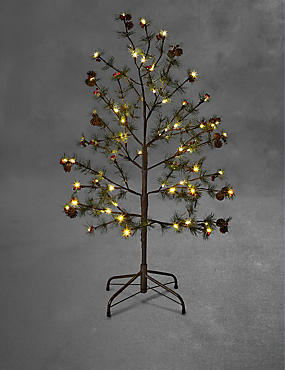 4ft Pine Outdoor Christmas Tree