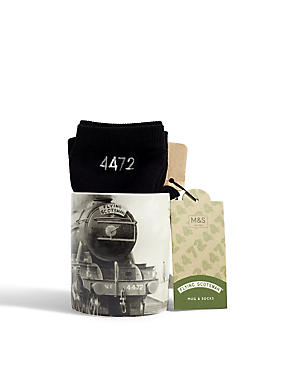 Flying Scotsman Mug & Socks