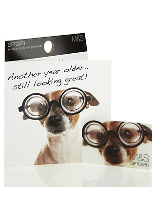 Dog Photo Gift Card Giftcard