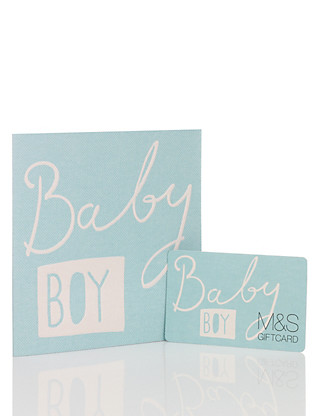 Baby Boy Gift Card Giftcard