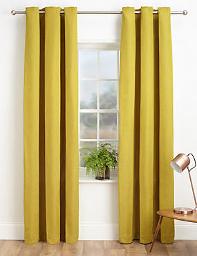 Bantry Weave Eyelet Curtains