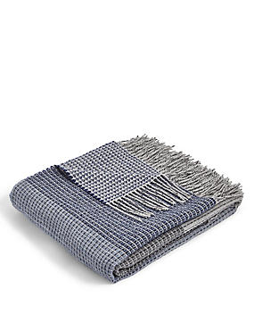 Block Striped Throw