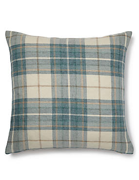 Checked Cushion