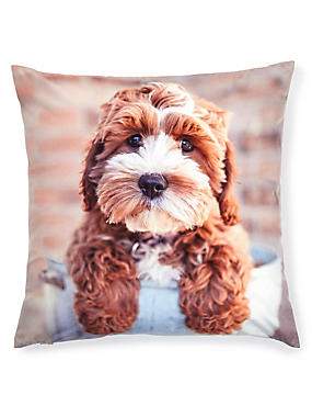 Alfie Puppy Cushion