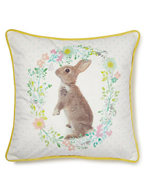 Rosie Rabbit Cushion