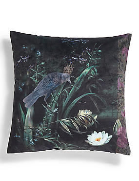 Cleo Bird Print Cushion